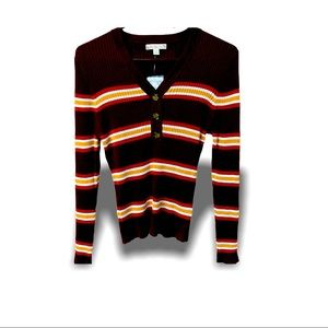 It's my Time Striped Sweater